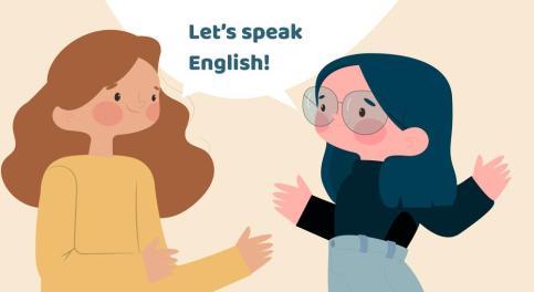 التحدث باللغة الانجليزية