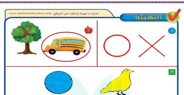 حل كتاب الرياضيات اول ابتدائي الفصل الاول 1442 مدونة المناهج السعودية