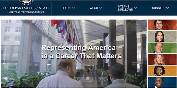 U.S Department of State Recruitment 2021