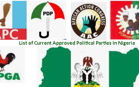 List of Current Approved Political Parties In Nigeria
