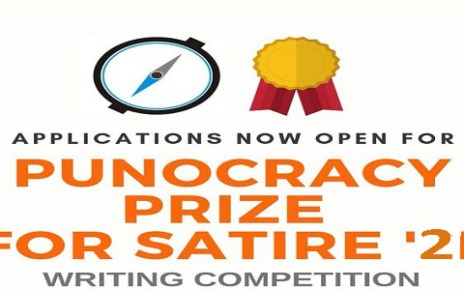 Punocracy Prize for Satire1