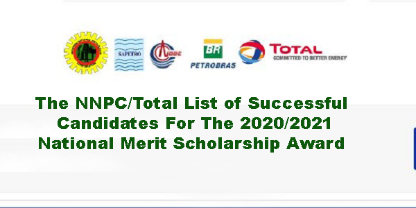 The NNPC/Total List of Successful Candidates