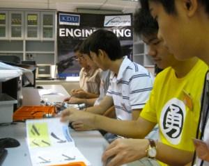 Electrical Engineering lab at KDU College Penang