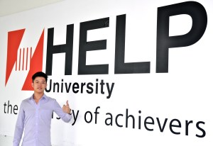 Eddy Soo, a student recommended to HELP University by EduSpiral Consultant Services