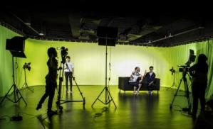 The Frame - TV Production Station at University of Wollongong Malaysia (UOWM) KDU, Utropolis Glenmarie