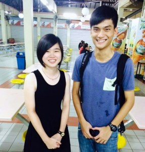 """""""EduSpiral provided me with good advise on where to study Aircraft Maintenance Engineering & arranged for the scholarship interview for me too."""" Wai Hoe (Right), Full Scholarship for Aircraft Maintenance Engineering at Nilai University"""