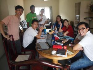The joy of studying during university life.