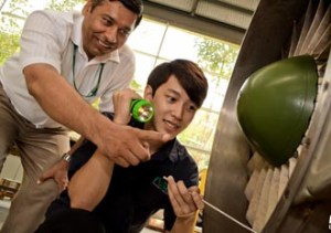 Qualified & Experienced lecturers teach at Nilai University's Aircraft Maintenance Engineering Courses