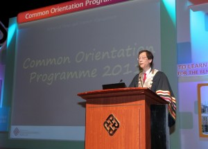 Hong Kong Poly U President Professor Tong