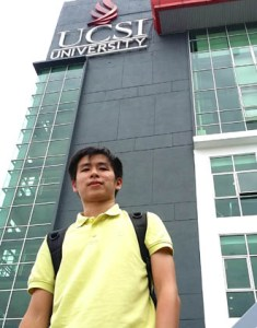 Being from Pangkor made it difficult to find information on the universities to transfer after my Diploma. EduSpiral gave a lot of information & advise that helped me to choose the right university. They even picked me up from the bus station to drop me at the hostel. Jayden Cheah,  Mechatronics Engineering at UCSI University