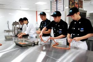 Garde manger Kitchen at KDU University College Utropolis Glenmarie Campus