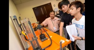 Engineering lab at Nilai University