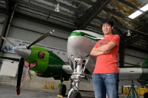 Eng Soon Ming, Alumni of Nilai University's Aircraft Maintenance Engineering programme