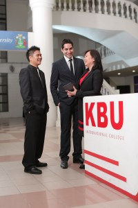 Climb the Corporate Ladder with a the MBA from KBU International College
