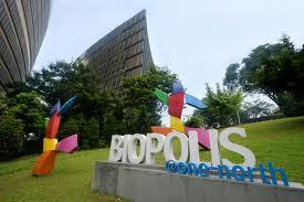 Top biotech research at Biopolis Singapore