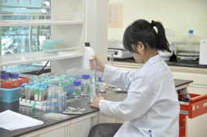 Biotechnology lab at UCSI University