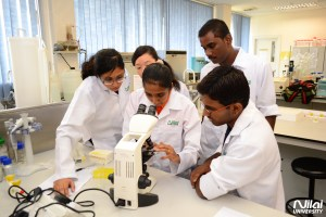 Biotechnology lab at Nilai University