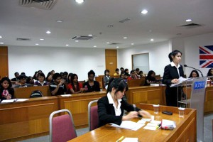 Moot Court at KDU College