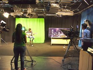 Mass Comm students at MDIS Singapore put their knowledge into practice at the well equipped labs