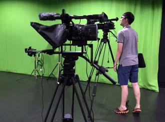 Green Room and Film Studio at University of Wollongong Malaysia (UOWM) KDU, Utropolis Glenmarie