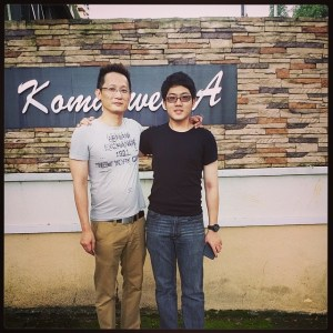 EduSpiral taking APU student, Vincent Chow, from Ipoh to tour APU accommodation at Vista Komanwel