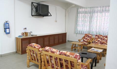 KDU Penang hostel TV lounge