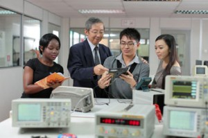 First City University College engineering students are taught by qualified and experienced lecturers