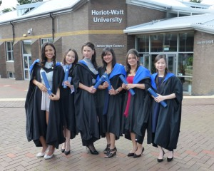 Heriot-Watt University Graduates