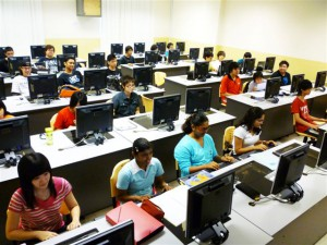 Computer lab at KDU Penang University College