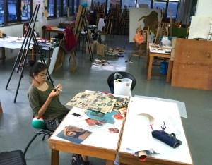 Spacious Art Studio at Malaysian Institute of Art (MIA)
