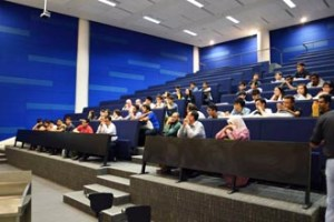 Lecture hall at Heriot-Watt University Malaysia