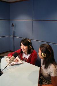 KDU College Penang Mass Comm students using the Recording Studio
