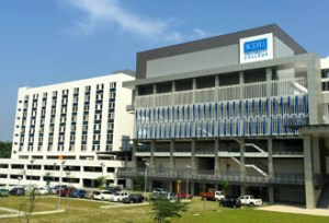KDU University College Utropolis Glenmarie Campus Accommodation Block (White) is just next to the main block