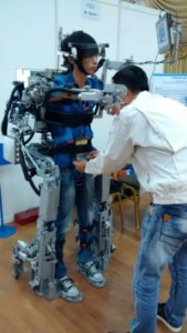 """The winning Malaysian entry in 2014, submitted by UCSI University student Desmond Tan Mun Yung, was a full-body """"exoskeleton"""" which aims to help disabled patients with movement."""