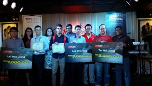 Asia Pacific University students win the E-Genting Bug Hunt (EGBH) 2014