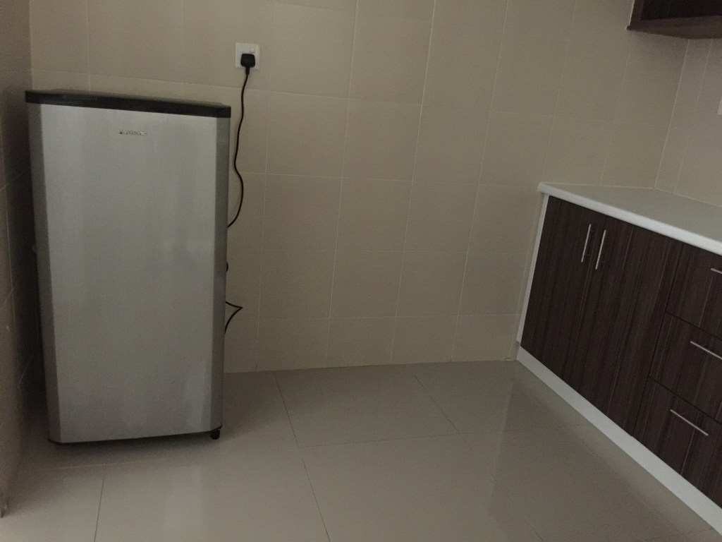 Kitchen at the Arc Condo, student accommodation for Heriot Watt University Malaysia