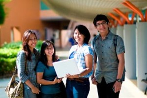 Top students from all over Malaysia choose to study at the 300-acre top ranking Curtin University Sarawak