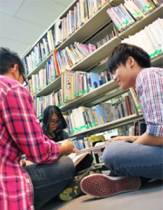 Library at ALFA College
