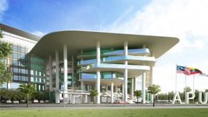 Asia Pacific University's new ultra-modern University Campus