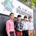 DSC_6576EduSpiral helped us to make the right choice!  Qi Leem, Jeremy, Chee Wey & Zhi Kang from different cities studying at Asia Pacific University