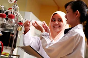 UCSI University Food Science students enjoy the highly practical course with a lot of lab work.