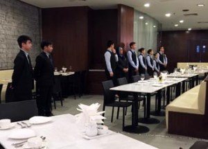 YTL International College of Hotel Management students operate a restaurant at the prestigious Starhill Gallery in Kuala Lumpur