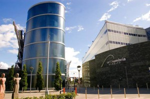 Northumbria University is a top ranked university in the UK