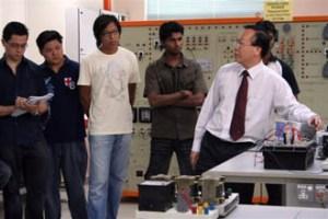 Electrical Power Lab at KDU College Penang