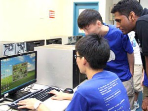 KDU College Game Design Students at work