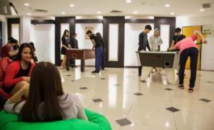 Student Lounge at KDU College Damansara Jaya