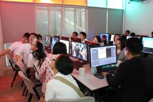 Multimedia Lab at Point College