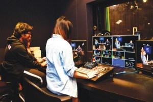 Professional recording studio at Taylor's University