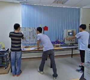 Engineering lab at KDU Penang University College