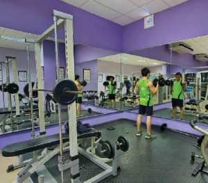 On campus gym at KDU Penang University College